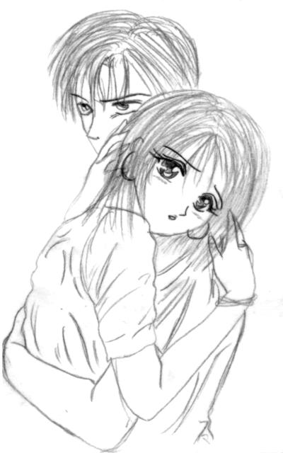 dessin manga romantique
